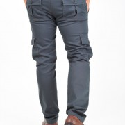 Morotto 2 tones Grey n Red  - Back 2