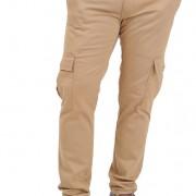 Morotto 2 tones Khaki n Orange - Front 2
