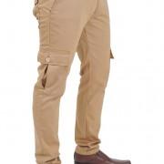 Morotto 2 tones Khaki n Orange - Front right angle